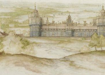 Earliest watercolour of Henry VIII's Nonsuch palace saved