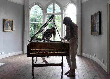 Gainsborough's House saves a rare English harpsichord for the nation