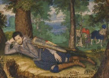 Portrait of Lord Edward Herbert of Cherbury unveiled at Powis Castle