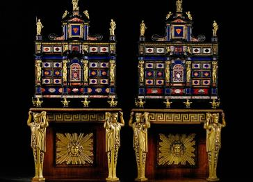 The Fitzwilliam Museum saves 'Brideshead' Cabinets for the nation